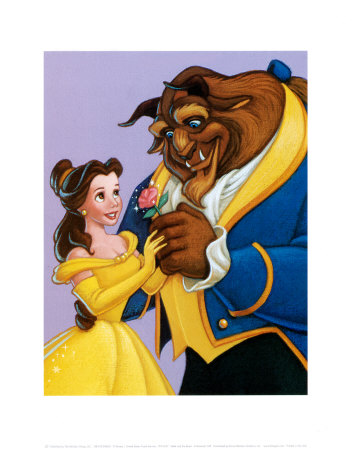 pfd1637belle-and-the-beast-a-romantic-gift-disney-posters